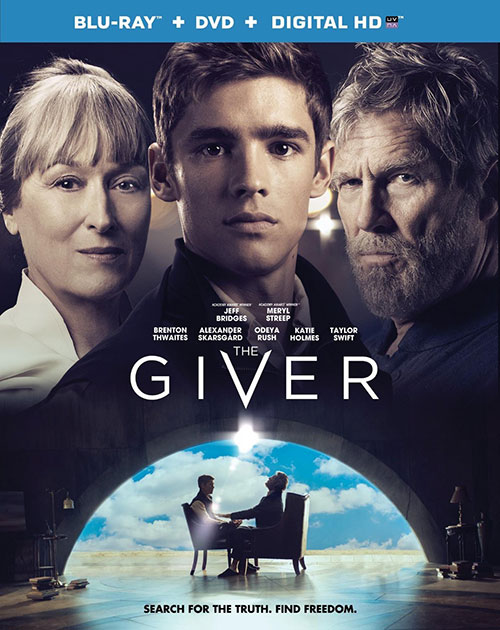 The Giver on Blu-ray